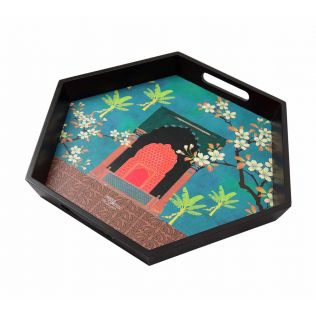 India Circus Honeycomb Constitution Tray