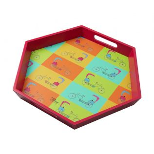 India Circus Pop Jinricksha Tray