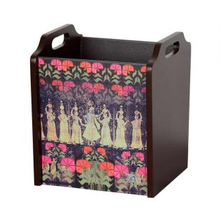 India Circus Cosmic Courtesan Desk & Magazine Organizer