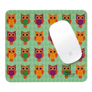 Disco Hedwig Mouse Pad