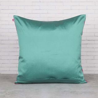 Flights of Vivers Blended Taf Silk Cushion Cover