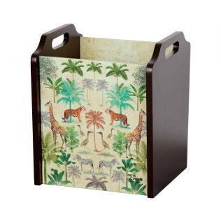 India Circus Forest Dominion Desk & Magazine Organizer