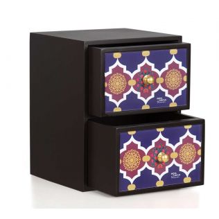 India Circus Geometric Pirouette Jewellery Chest Drawers