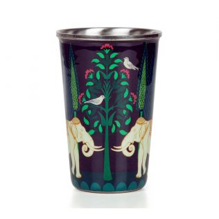 India Circus Antediluvian Folklore Steel Tumbler Set of 2