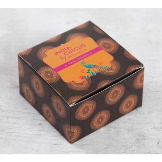 India Circus Apple Cinnamon Tea Light candles (Set of 12)