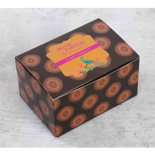 India Circus Apple Cinnamon Tea Light candles (Set of 24)