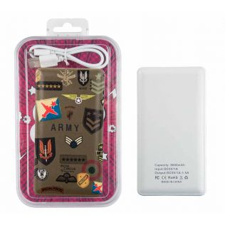 India Circus Army Badges Rush Power Bank