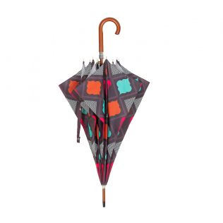 India Circus Assorted Geometry Umbrella