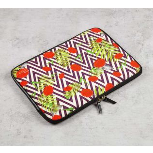India Circus Bayrose Chevron 13-inch Laptop Bag