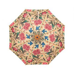 India Circus Bird Land 3 Fold Umbrella