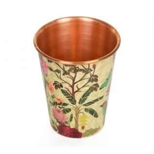 India Circus Bird Land Copper Tumbler