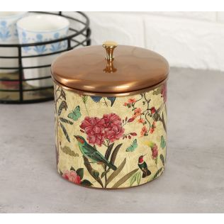 India Circus Bird Land Storage Jar