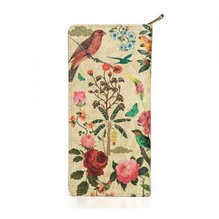 India Circus Bird Land Travel Wallet
