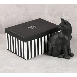 India Circus Black Cat Figurine