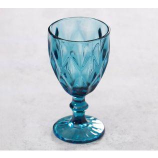 India Circus Blue Sainte Wine Glass