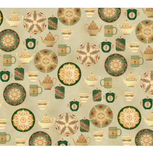 India Circus by Krsnaa Mehta All About Tea Wallpaper