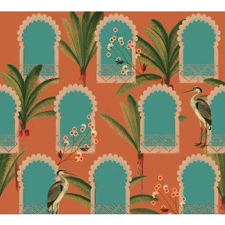 India Circus by Krsnaa Mehta Heron's Palace Wallpaper