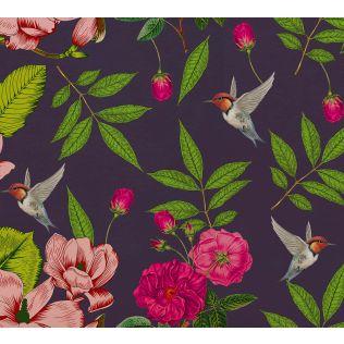 India Circus by Krsnaa Mehta Warbled Verdure Wallpaper