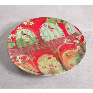 India Circus Capacious Corridor 10 inch Decorative and Snacks Platter