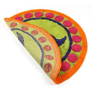India Circus C'est La Vie Shape Bath Mat