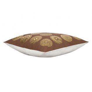 India Circus Chakra Motifs Foil Cushion Cover