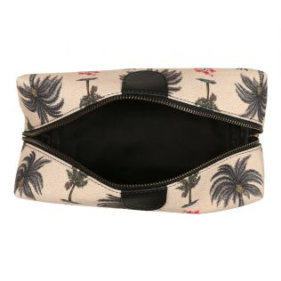 India Circus Chevron Palms Utility Pouch