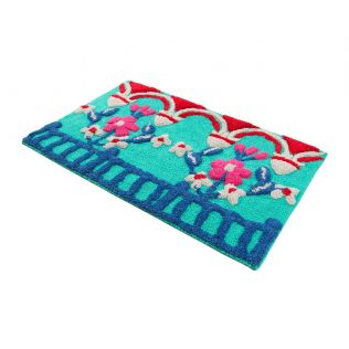 India Circus Chirping Birds Bathmat