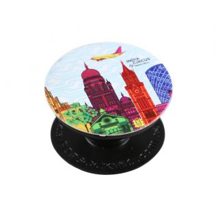 India Circus City Fever Vibrancy Popsocket