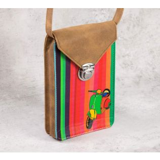 India Circus Colour Pop Scooter Mobile Sling Bag
