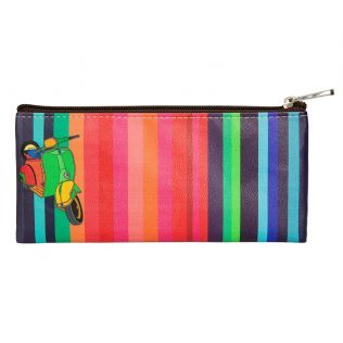India Circus Colour Pop Scooter Small Utility Pouch