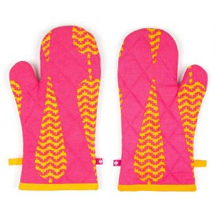 India Circus Conifer Spades Oven Mitts