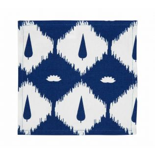 India Circus Conifer Symmetry Cocktail Napkins Set of 6