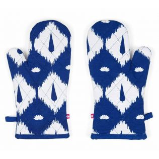 India Circus Conifer Symmetry Oven Mitts