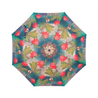 India Circus Cosmic Sail 3 Fold Umbrella