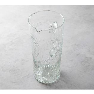 India Circus Crystal Glass Jug