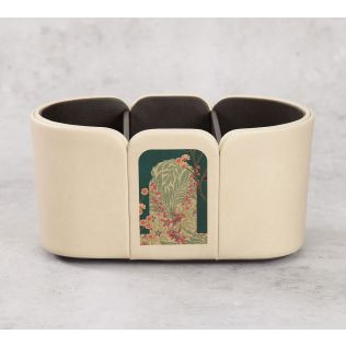 India Circus Cypress Vines Leather Desk Organiser
