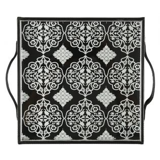 India Circus Damask Inception Leather Tray