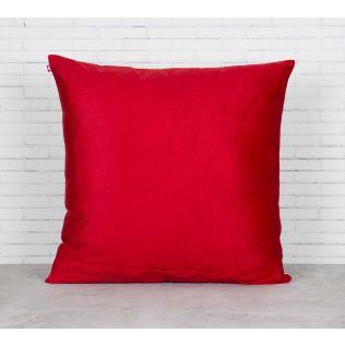 India Circus Deer and Conifer Garden Blended Velvet Cushion Cover