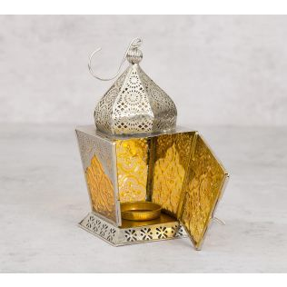 India Circus Dome Small Candle Lantern