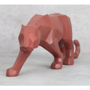 India Circus Dominant Panther Figurine