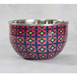 India Circus Elixir of Geometry Serving Bowl