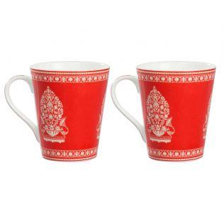 India Circus Fenced Sepals Mystery Zing Mug
