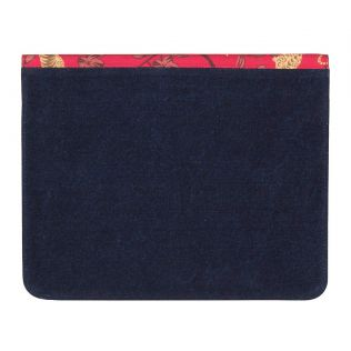 India Circus Ferocious Feline Denim iPad Sleeve