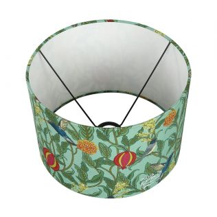 India Circus Flights of Vivers Cylindrical Lamp Shade