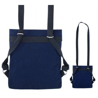 India Circus Flights of Vivers Sling Denim Backpack