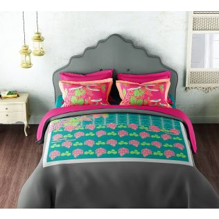 India Circus Lissom Lotus Bed sheet Set