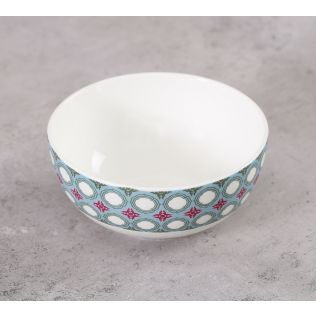 India Circus Floral Illusion Katori Bowl