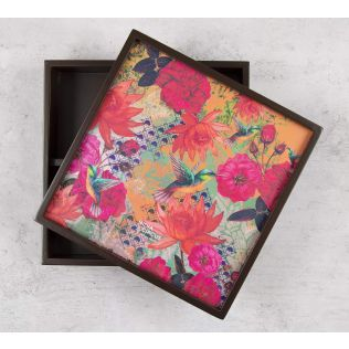 India Circus Floral Kingdom Storage Box