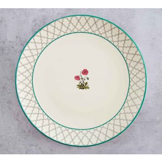 India Circus Floral Twinkles Dinner Plate