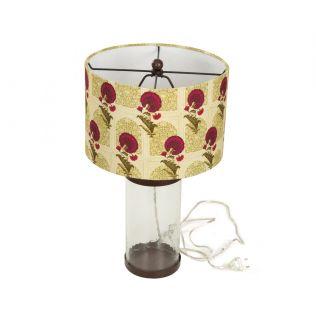 India Circus Flower Regalia Table Lamp
